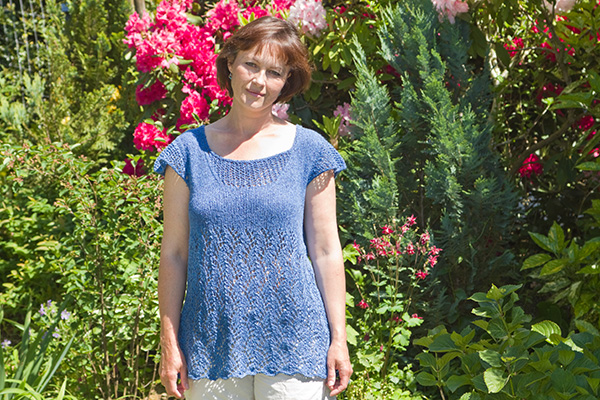 Top Blue Air Strickanleitung
