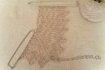 Lace Garne Test für Orenburger Schal
