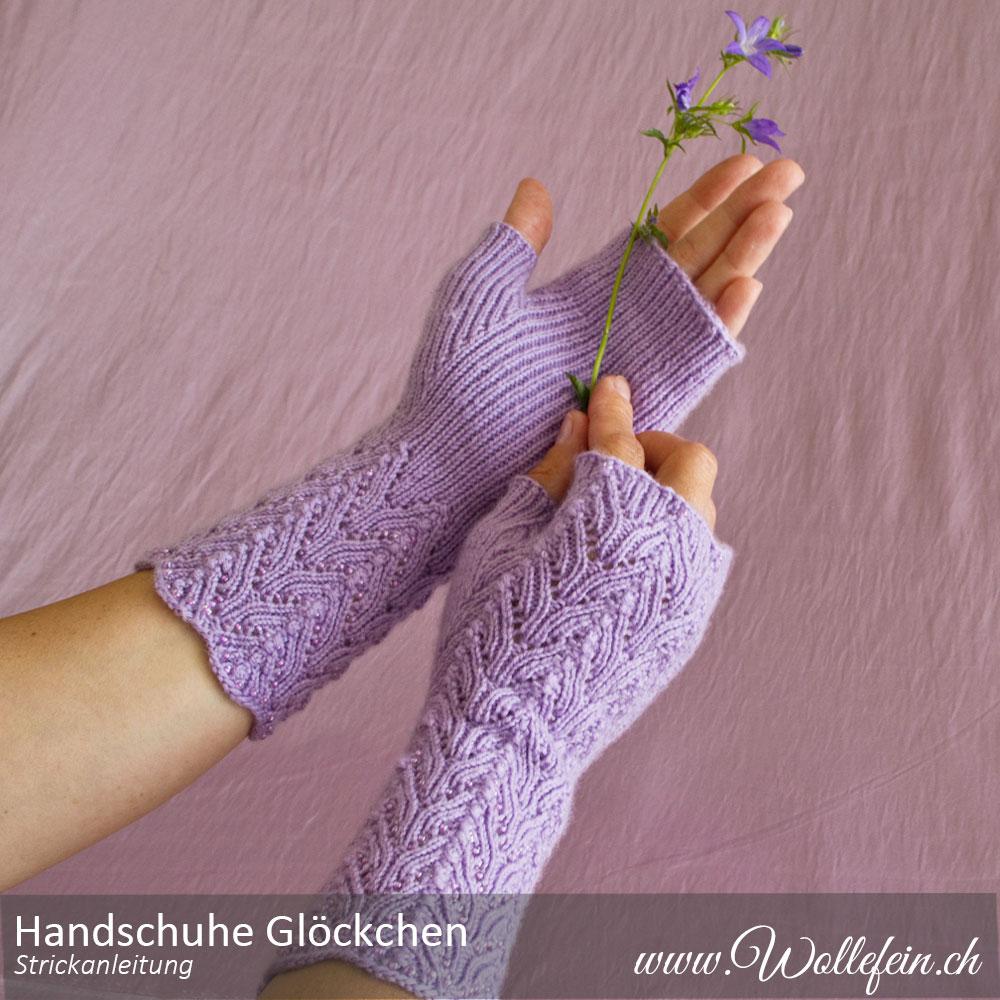 Fingerlose-Handschuhe-Glöckchen-Strickanleitung-www.wollefein.ch