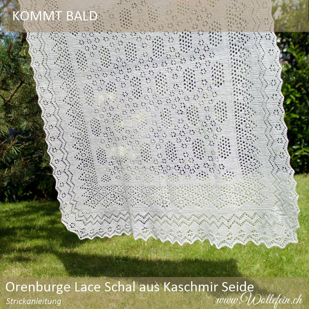 Orenburger-Lace-Schal-aus-Kaschmir-Seide-Lacegarn-www.wollefein.ch