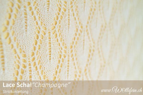 Lace-Schal-Champagne aus-Kaschmir-Seide-Lacegarn-Strickanleitung-www.wollefein.ch Design Ekaterina Arndt